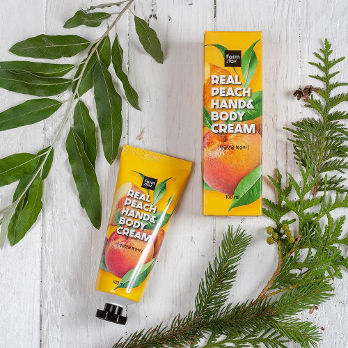 FarmStay Real Peach Hand & Body Cream-фото