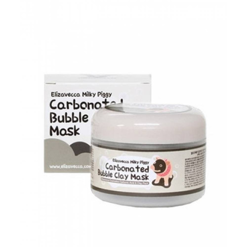 Пузырьковая маска Elizavecca Milky Piggy Carbonated Bubble Clay Mask-фото